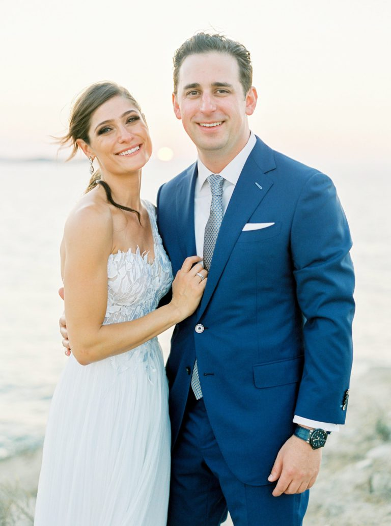 BrancoPrata - Destination wedding Photography - Film photography - Wedding in Mykonos - Greece