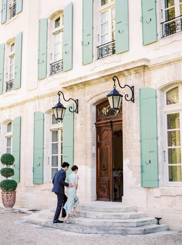wedding at Chateau de Tourreau