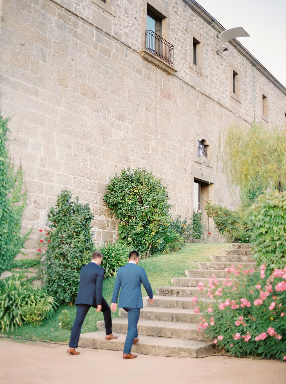 Same sex destination wedding in Portugal