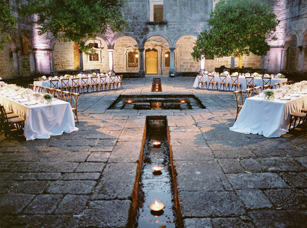Old monastery wedding in Portugal