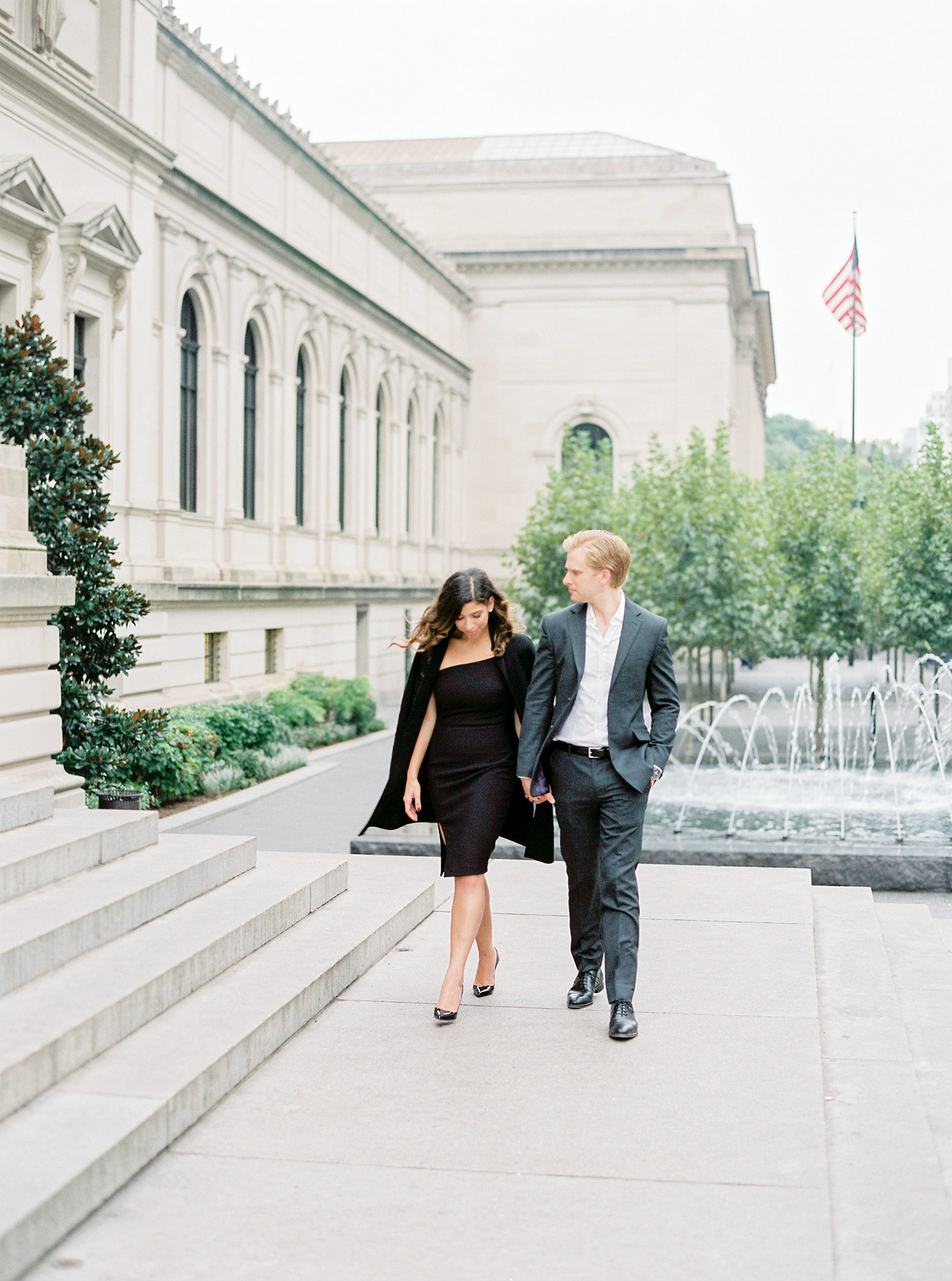 Fall couple session in New York