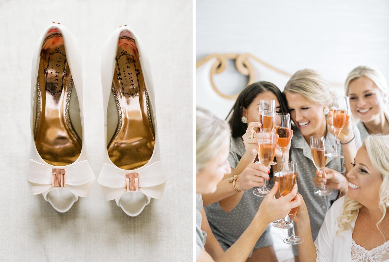 Details and bridesmaids florida wedding