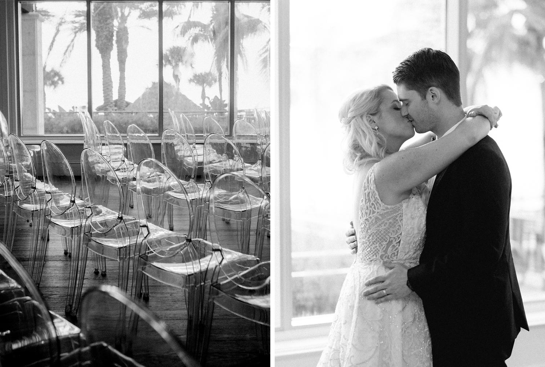 ceremony Florida waterfront wedding