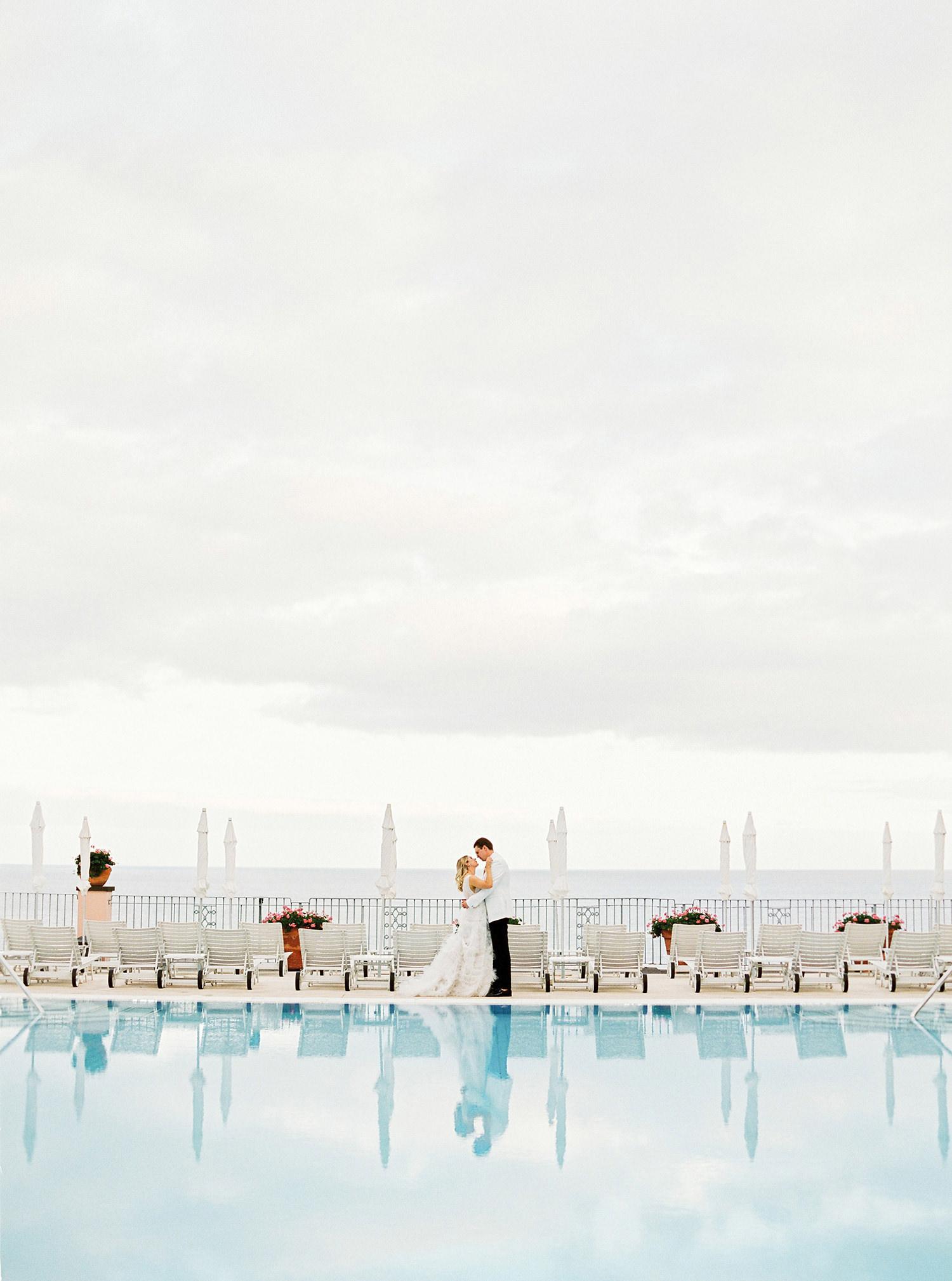 Pool wedding shoot in Madeira Island