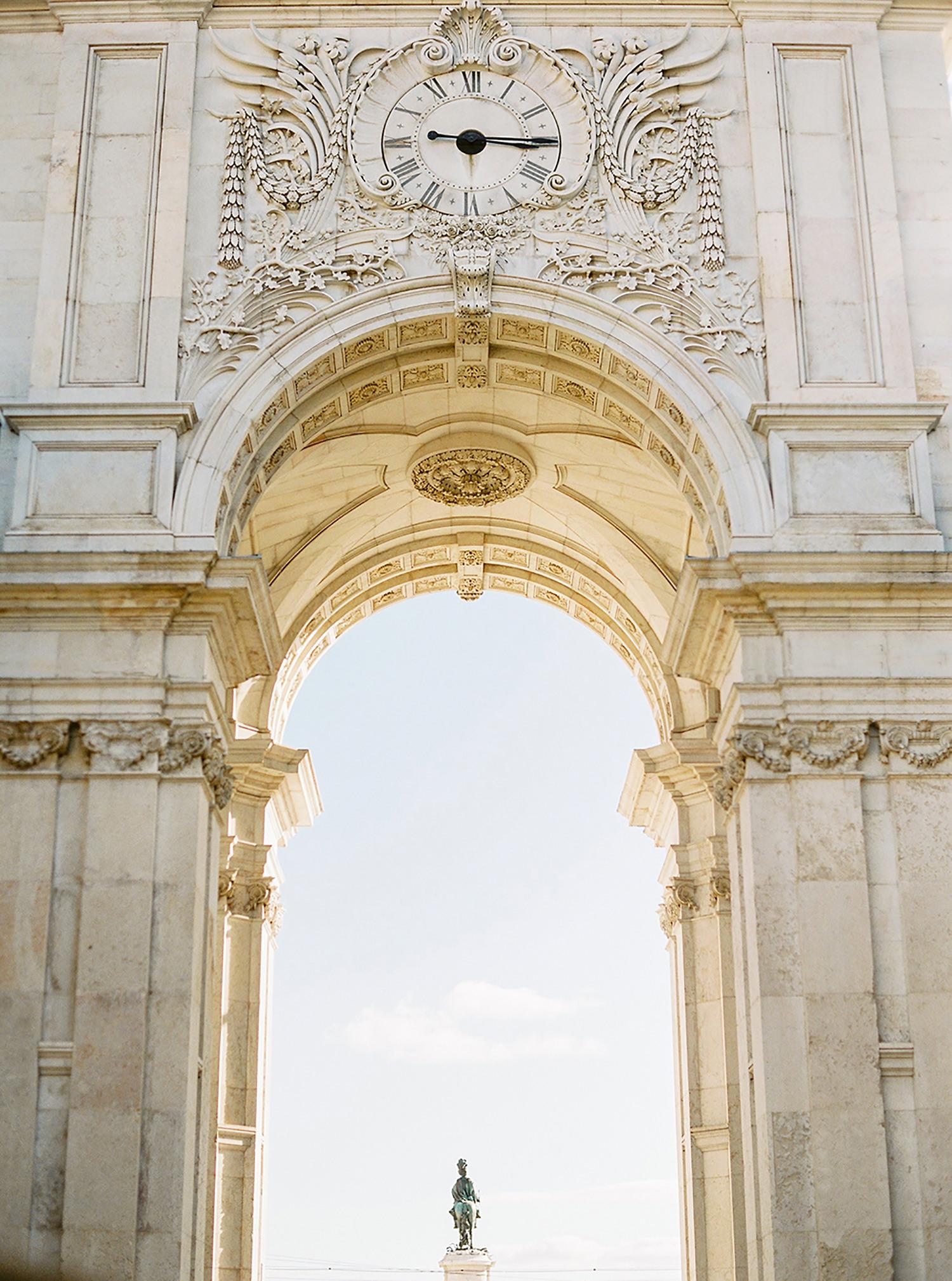 Spectacular Arco da Rua Augusta, a must see when visiting the city