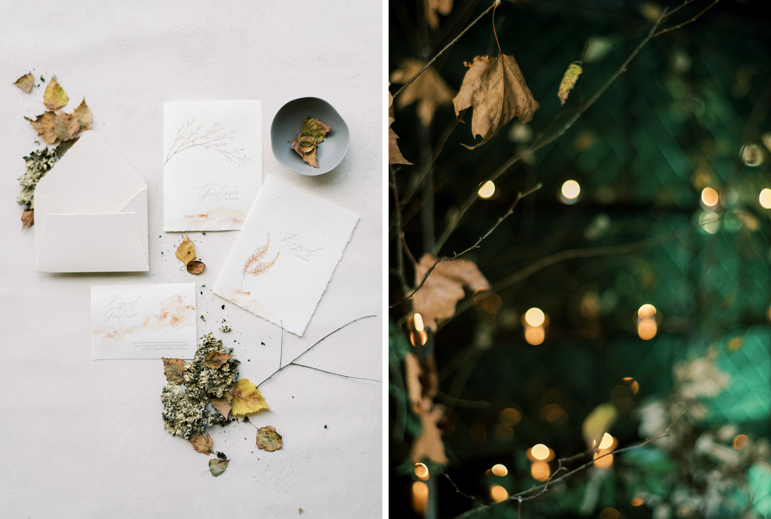 Wedding stationery inspiration at Something Blue workshop, creative direction and styling by Brancoprata