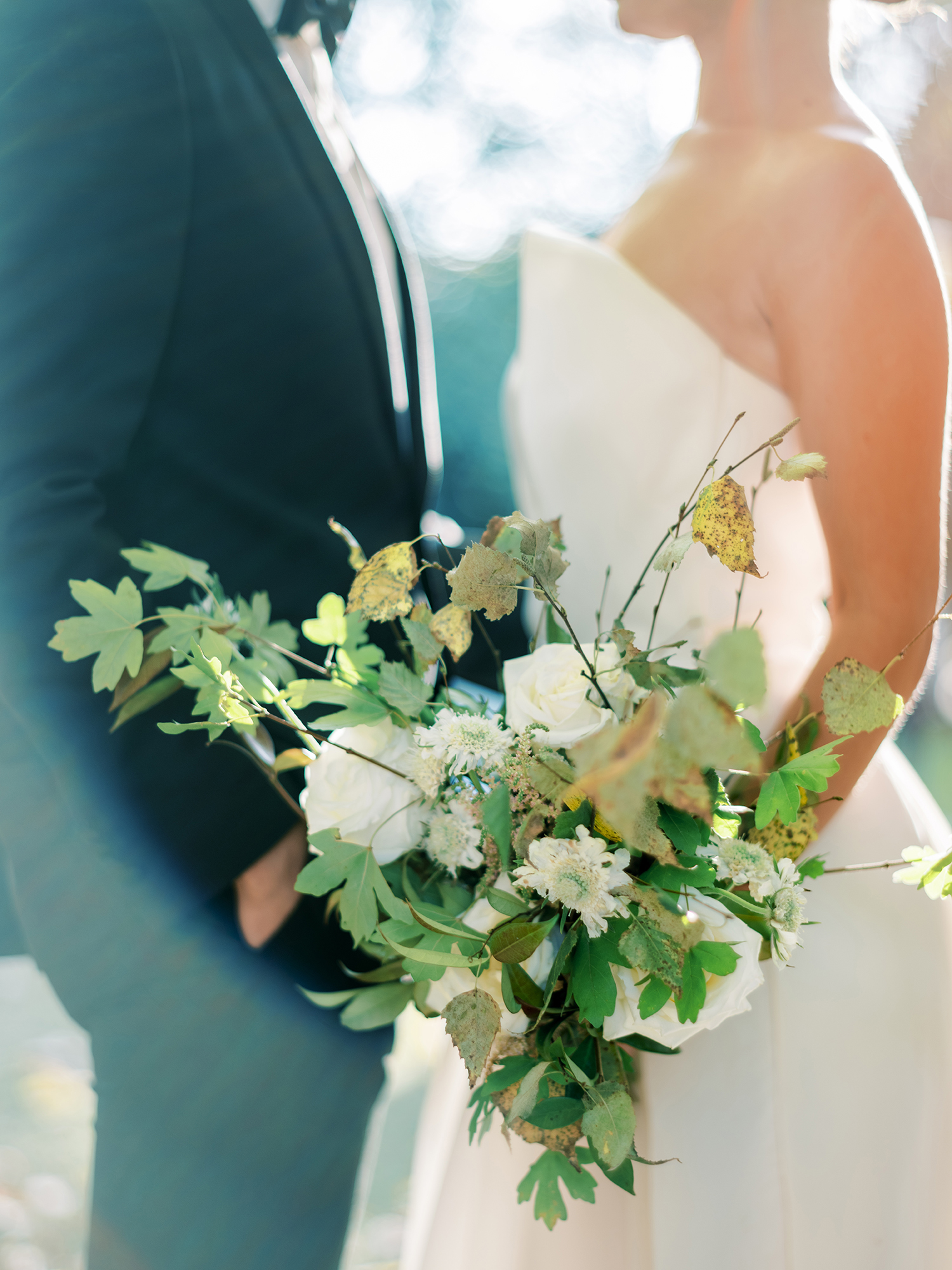 Bridal bouquet inspiration for Fall weddings with creative direction and styling by Brancoprata