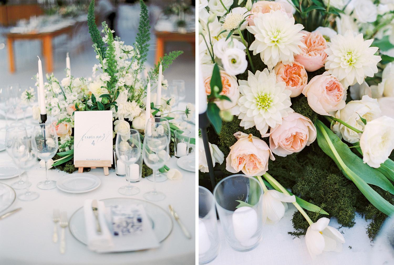 Wedding floral design centerpieces inspiration