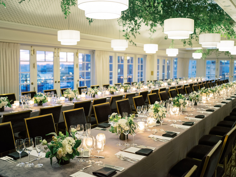 Rooftop wedding at The Hay Adams Hotel in Washington DC