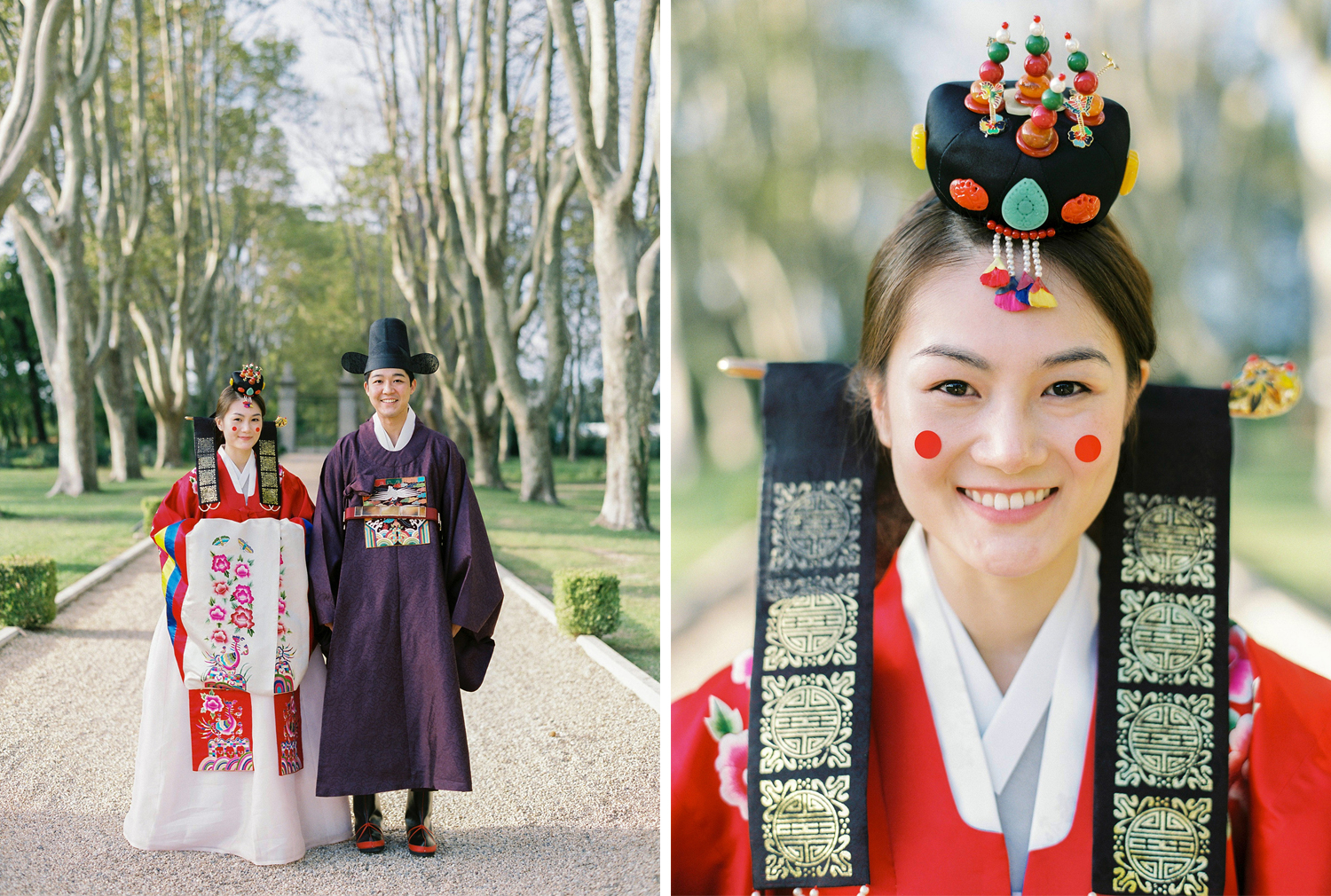 Korean Ceremony in the South of France