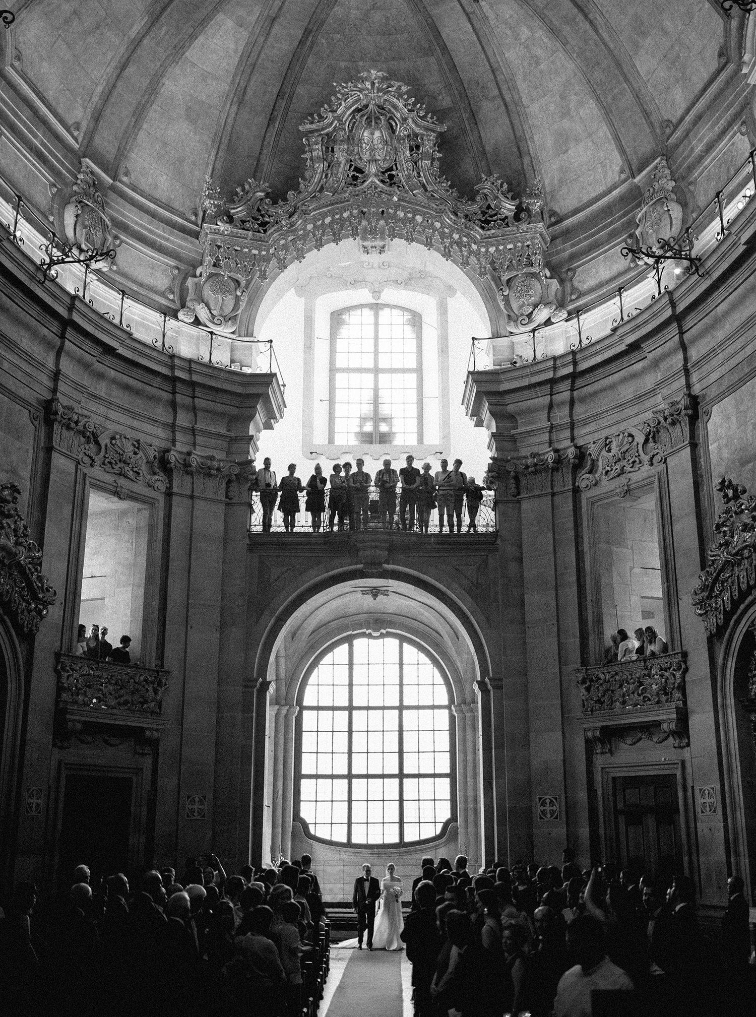Igreja dos Clérigos where the wedding ceremony took place