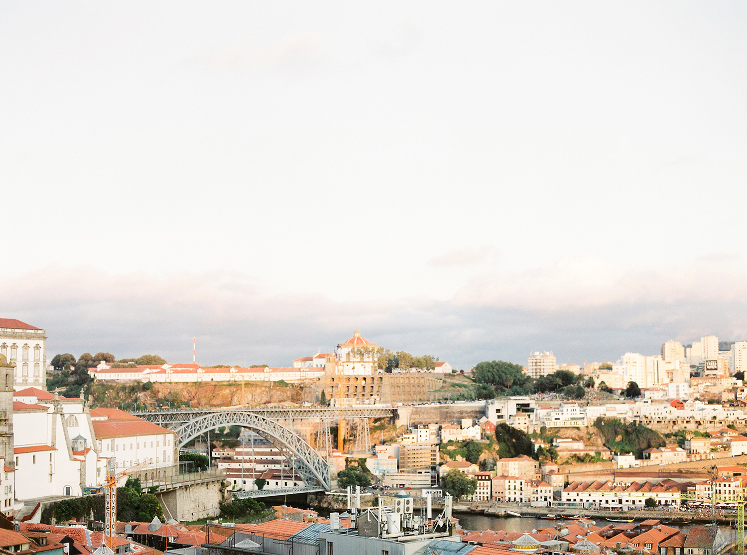 Overview of Ponto D. Luis in Porto