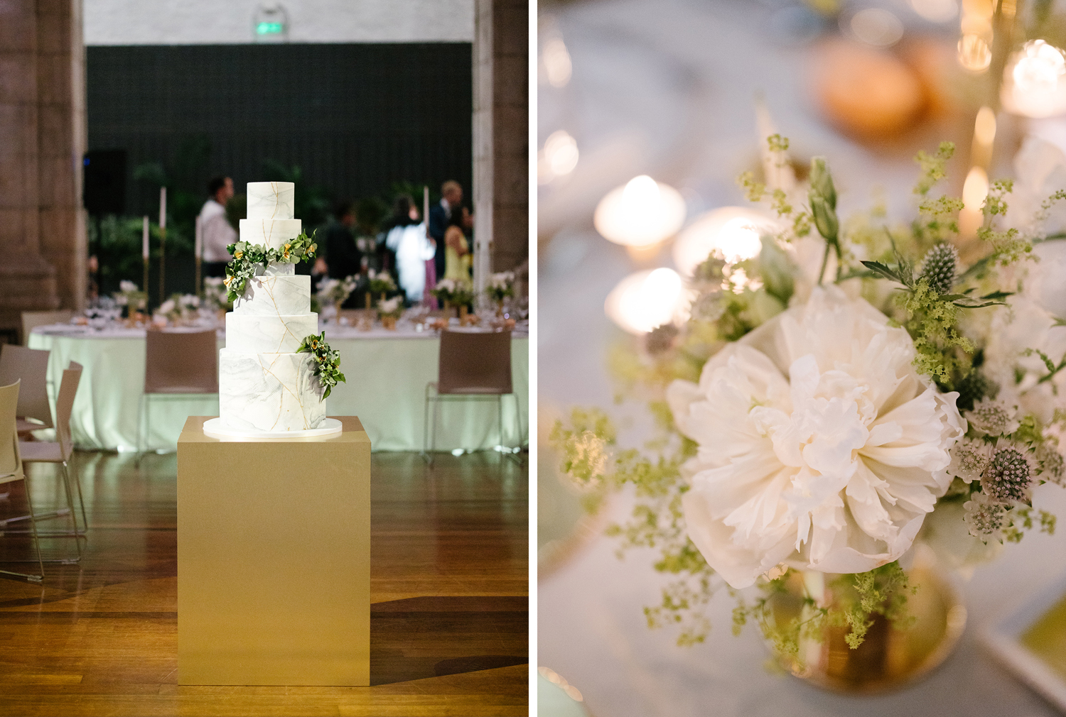 Details of the wedding decoration